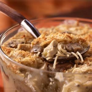 Chicken Tettrazanni Recipe, simple, noodles