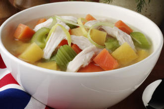 Chicken Vegetable-Soup