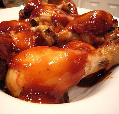 BBQ Chicken in Sauce, BBQ Chicken