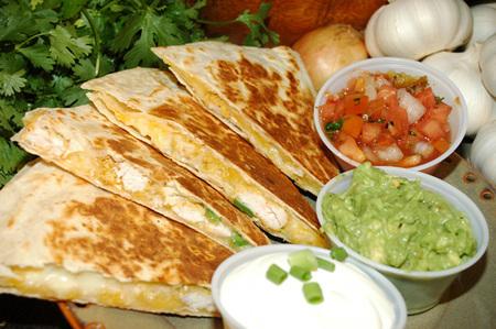 Mexican Chicken Quesadilla