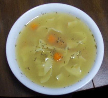 Easy chicken soup recipe
